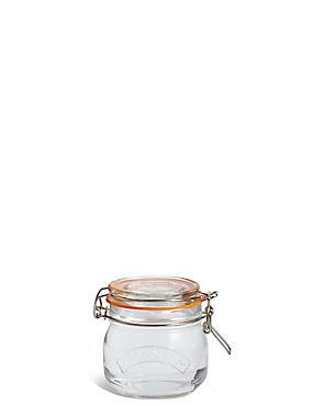 Small Glass Kilner Jar, , catlanding