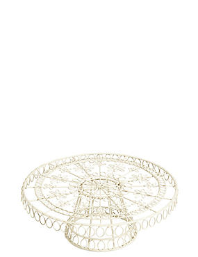 Wire Footed Cake Stand
