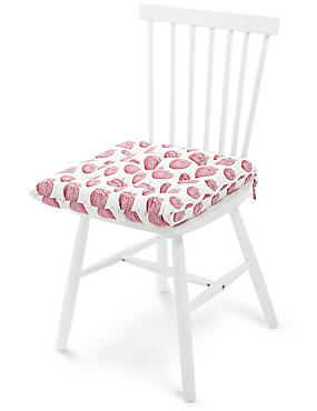 Strawberry Print Seat Pad