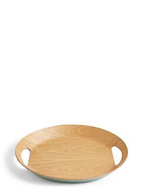 Loft Small Oval Tray, GREEN MIX, catlanding