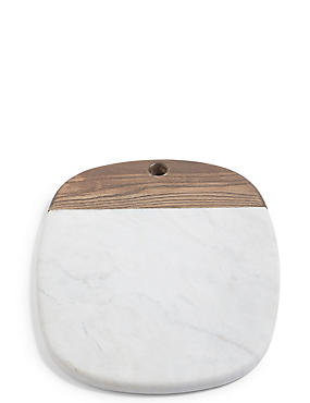 Marble & Ash Oval Platter
