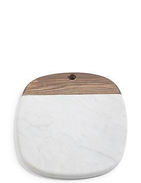 Marble & Ash Oval Platter, , catlanding