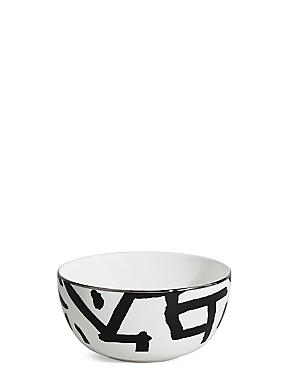 Sue Timney Graffiti Cereal Bowl