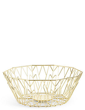 Manhattan Large Wire Bowl