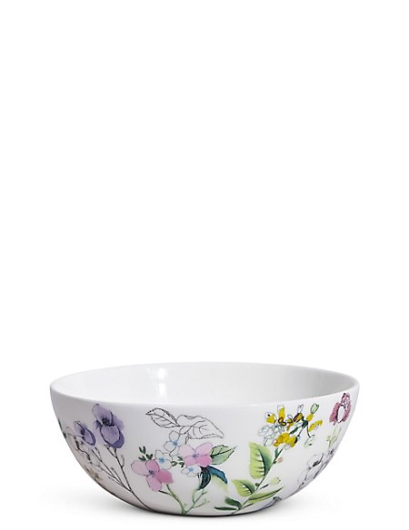 Spring Blooms Cereal Bowl