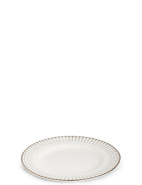 Platinum Decorated Side Plate, , catlanding