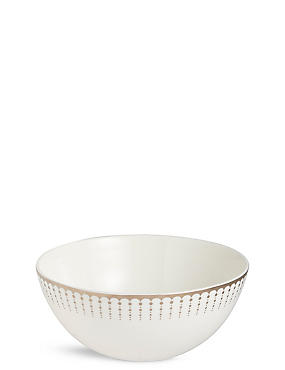 Platinum Deco Cereal Bowl