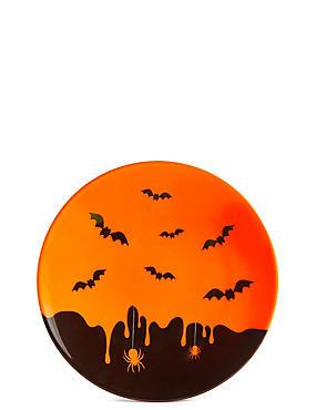 Halloween Melamine Plate, , catlanding
