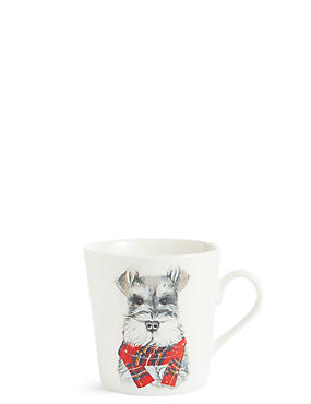 Festive Dog Mug, , catlanding