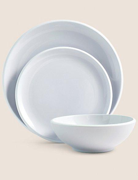 Oslo 12 Piece Set  sc 1 st  Marks \u0026 Spencer & Dinner Sets | Dinner Plate Sets \u0026 China Dinner Sets | M\u0026S