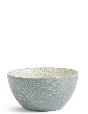 Medium Texture & Pad Print Bowl