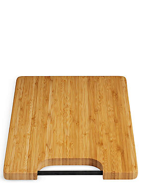 Bamboo Chopping Board with Silicone Rod Handle, , catlanding