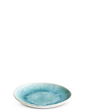 Tavira Side Plate, TURQUOISE, catlanding