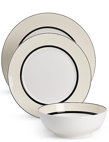 12 Piece Manhattan Dinner Set