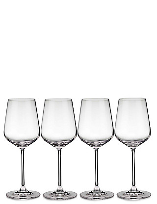 4 Nova White Wine Glasses Home