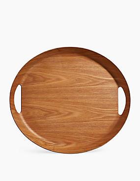 Round Tray, GRAPHITE, catlanding