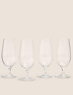 4 Maxim Beer Glasses