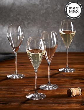 4 Maxim Prosecco Glasses, , catlanding