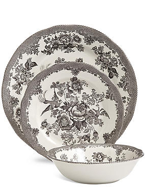 12 Piece Rosalie Dinner Set