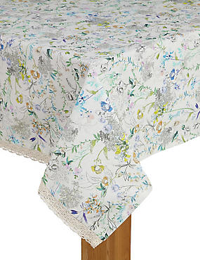 Spring Blooms Tablecloth
