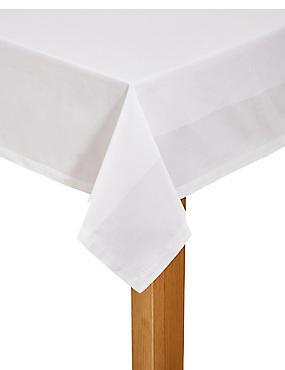 Cotton Rich Tablecloth, , catlanding