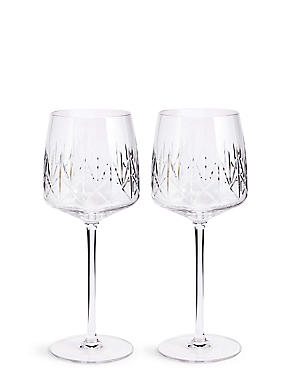 Nouveau 2 Pack Wine Glasses