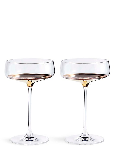 Bellagio 2 Pack Champagne Saucers