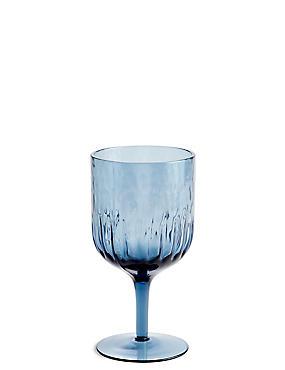 Sicily Wine Glass, INDIGO, catlanding