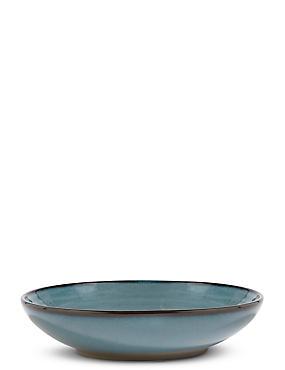 Retreat Pasta Bowl, BLUE/GREEN, catlanding