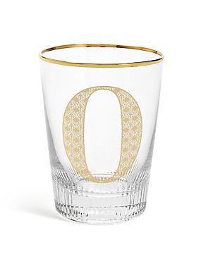 Alphabet O Glass, , catlanding