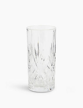 Pressed Hi Ball Glass