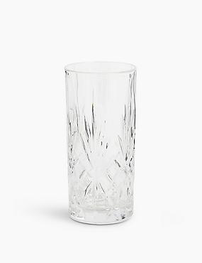 Pressed Hi Ball Glass, , catlanding