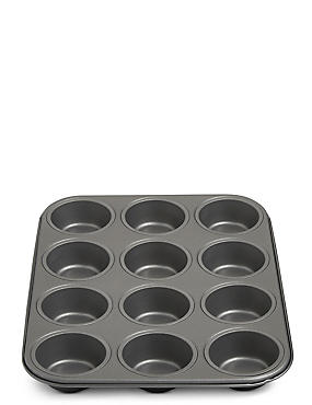 12 Cup Muffin Tray, , catlanding