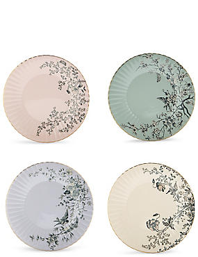 Dovecote Set of 4 Cake Plates