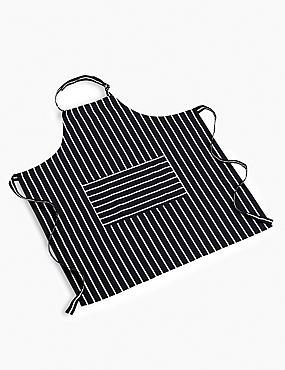 Classic Striped Apron, , catlanding