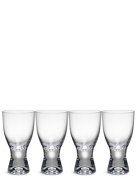 4 Pack Barrel Wine Glasses
