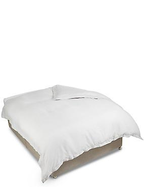 Pure Linen Duvet Cover, SILVER, catlanding