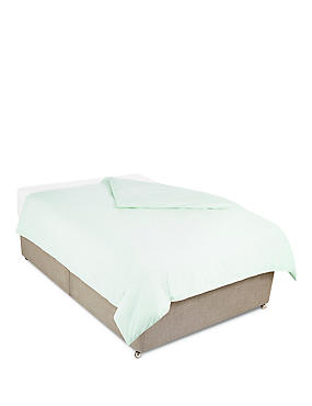 Anti-Allergy Duvet Cover, DUCK EGG, catlanding