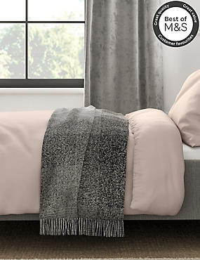 200 Thread Count Comfortably Cool Duvet Cover, TAUPE, catlanding