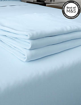200 Thread Count Comfortably Cool Flat Sheet