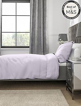 Non-Iron Pure Egyptian Cotton Duvet Cover, LIGHT LILAC, catlanding