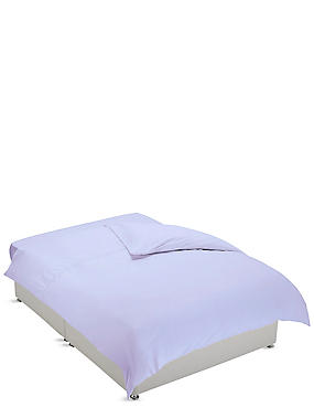 Non-Iron Pure Egyptian Cotton Duvet Cover, LAVENDER, catlanding