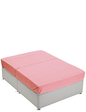 Non-Iron Pure Egyptian Cotton Flat Sheet, CORAL, catlanding