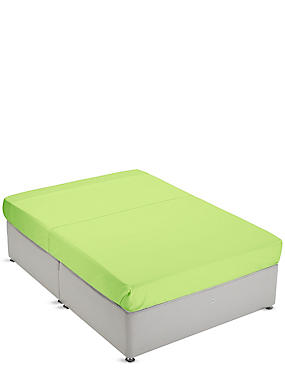 Non-Iron Pure Egyptian Cotton Flat Sheet, LIME, catlanding