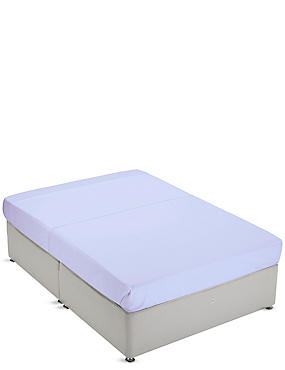 Non-Iron Pure Egyptian Cotton Flat Sheet, LAVENDER, catlanding