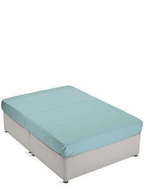 Non-Iron Pure Egyptian Cotton Flat Sheet, LIGHT VERDIGRIS, catlanding