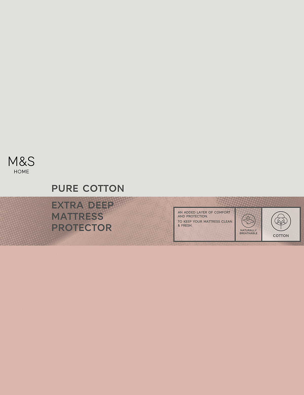 Cotton Extra Deep Mattress Protector