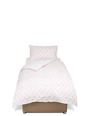 Flamingo Print Bedding Set, PINK MIX, catlanding