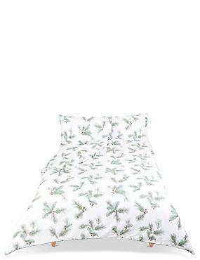 Pine Printed Bedding Set, GREEN MIX, catlanding