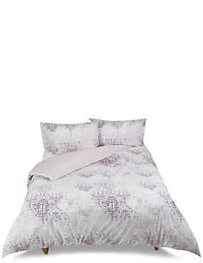 Distressed Tile Bedding Set